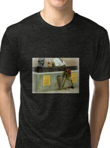 Foot of Freddie Mercury Tri-blend T-Shirt