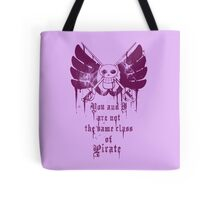 The Same Class of Pirate Tote Bag