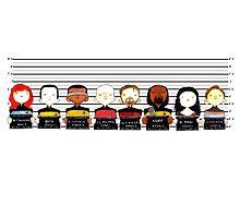 Star Trek TNG Police Lineup by Bantambb
