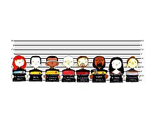 Star Trek TNG Police Lineup Photographic Print