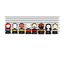 Star Trek TNG Police Lineup Photographic Print