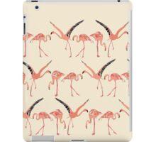 vanilla flamingos iPad Case/Skin