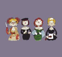 Ladies of Clue Kids Tee