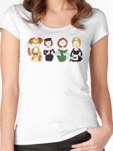 Ladies of Clue Women's Fitted Scoop T-Shirt