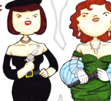 Ladies of Clue Sticker