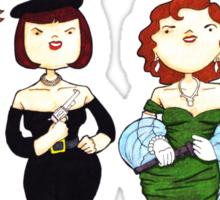 Ladies of Clue Sticker