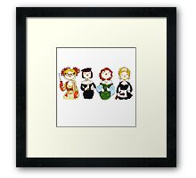 Ladies of Clue Framed Print