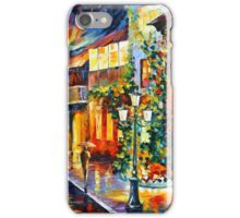 TOWN FROM THE DREAM - Leonid Afremov iPhone Case/Skin