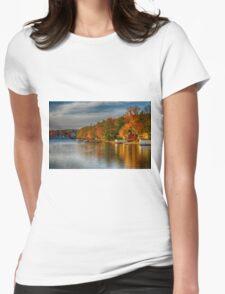 Lake Winola, PA Womens Fitted T-Shirt