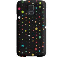 retro rain spots black Samsung Galaxy Case/Skin