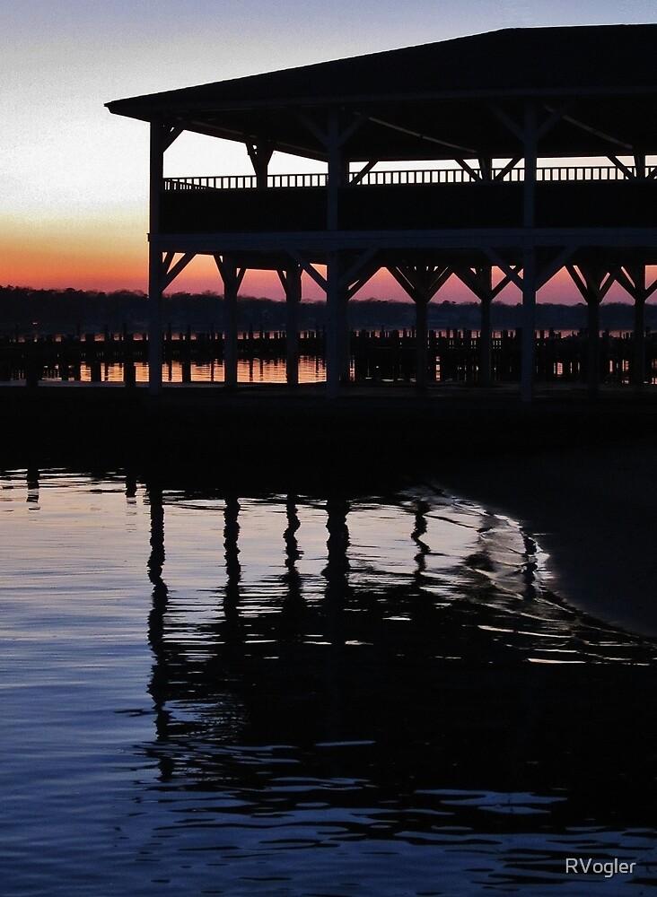 River Sunset by RVogler