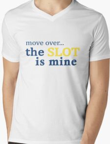 Move Over... The Slot is Mine Mens V-Neck T-Shirt