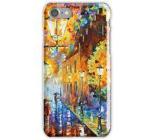LIGHTS IN THE NIGHT - Leonid Afremov iPhone Case/Skin