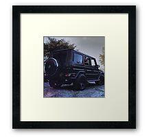 g wagon  Framed Print