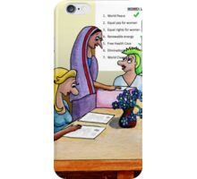 Women of the World Party iPhone Case/Skin