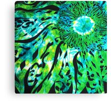 Glorious Greenery Collection - Suddenly A Flowering I Canvas Print