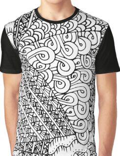 Abstract zen pattern Graphic T-Shirt