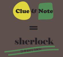 Clue & Note version 2 Kids Clothes