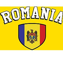 Romania Supporters Photographic Print