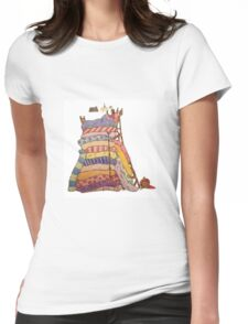 The Princess and the Pea Womens Fitted T-Shirt