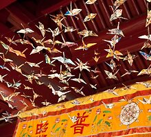 Flight of the Paper Cranes by DavidsArt