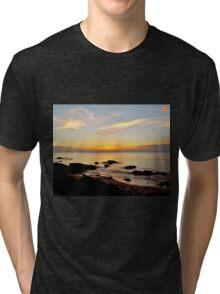 Beach Sunset Tri-blend T-Shirt