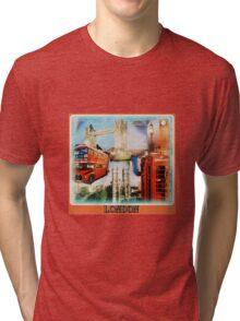 London sights Tri-blend T-Shirt