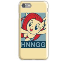 "Fluttershy HNNGG- ""Hope"" Poster Parody iPhone Case/Skin"