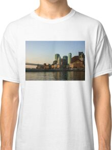 San Francisco Skyline - South Beach Embarcadero Facades Reflect the Sunrise Classic T-Shirt