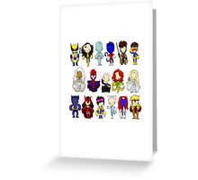 MUTANTS Greeting Card