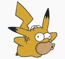 Pikachu x Homer Kids Clothes