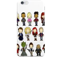 Doctors Companions and Friends V.2 iPhone Case/Skin