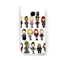 Doctors Companions and Friends V.2 Samsung Galaxy Case/Skin