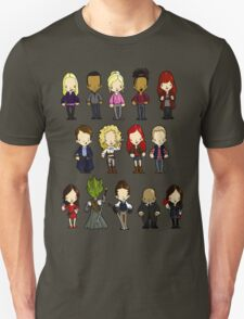 Doctors Companions and Friends V.2 Unisex T-Shirt