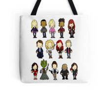 Doctors Companions and Friends V.2 Tote Bag
