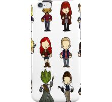 Doctors Companions and friends iPhone Case/Skin
