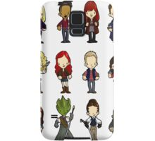 Doctors Companions and friends Samsung Galaxy Case/Skin