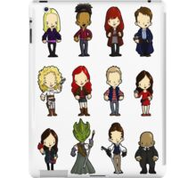 Doctors Companions and friends iPad Case/Skin
