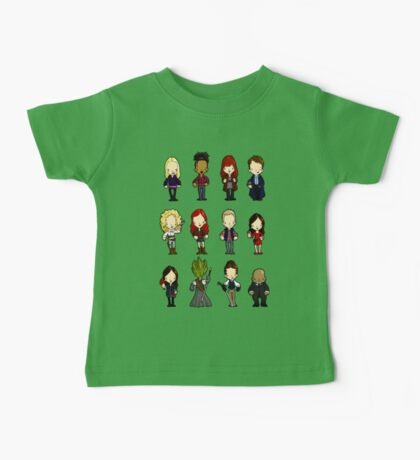 Doctors Companions and friends Baby Tee