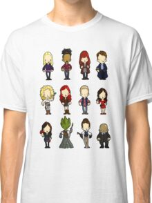 Doctors Companions and friends Classic T-Shirt
