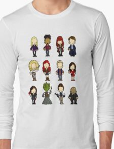 Doctors Companions and friends Long Sleeve T-Shirt