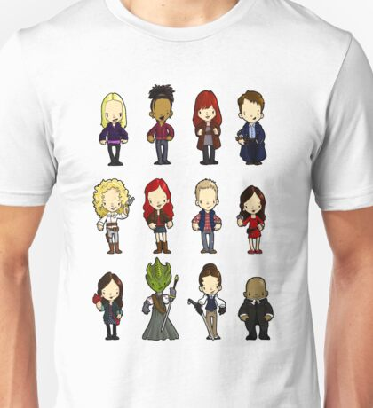 Doctors Companions and friends Unisex T-Shirt