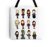 Doctors Companions and friends Tote Bag