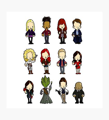 Doctors Companions and friends Photographic Print