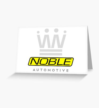 Noble Automotive 2  Greeting Card