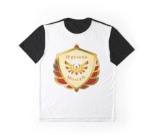 Hylians United Shield on White Graphic T-Shirt