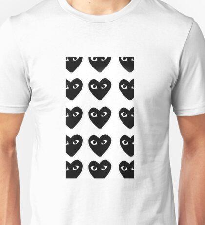 Comme Des Garcon Black Monogram Unisex T-Shirt
