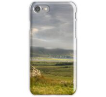 Keel beach from the Deserted Village iPhone Case/Skin