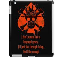 I Don't Wanna Live a Thousand Years... iPad Case/Skin