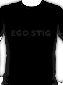 I AM THE STIG - Latin Black Writing T-Shirt